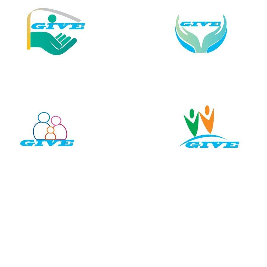 "Kilpailutyö #22 kilpailussa Design a Logo for a charity website called "" give """