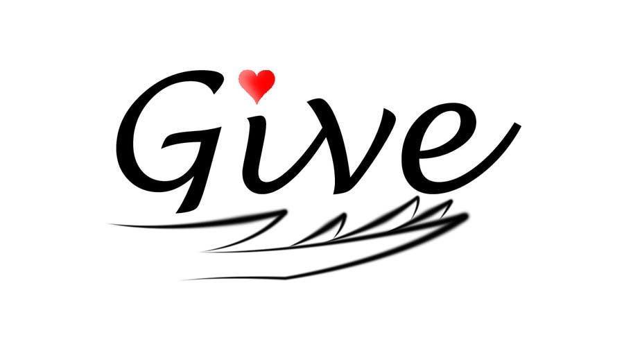 "Kilpailutyö #33 kilpailussa Design a Logo for a charity website called "" give """