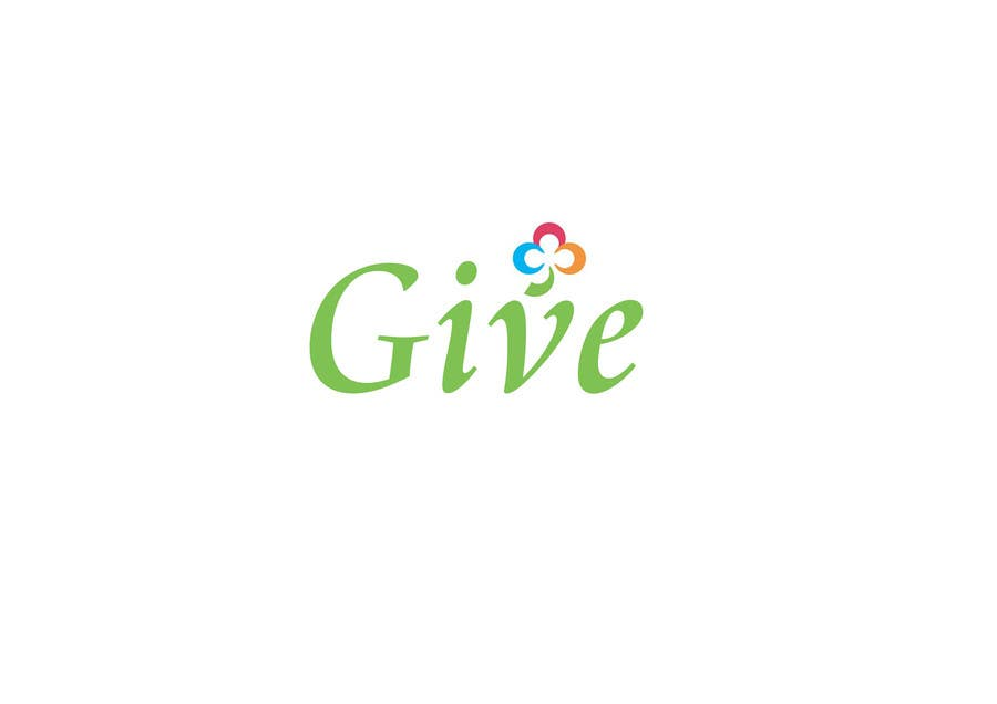 "Contest Entry #103 for Design a Logo for a charity website called "" give """