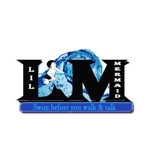 Kilpailutyö #9 kilpailussa Design a Logo for lil mermaid