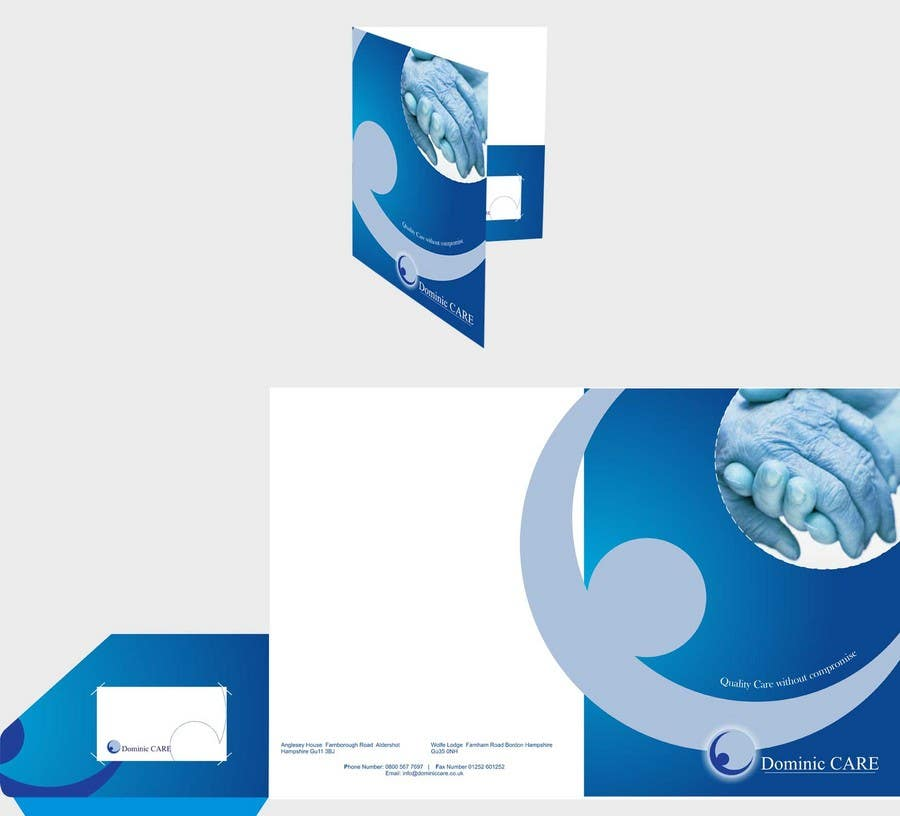 Contest Entry #2 for Stationery Design for Dominic Care Limited