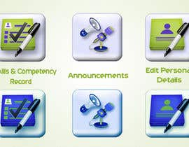 shrish02 tarafından Redesign three web application GUI icons için no 47