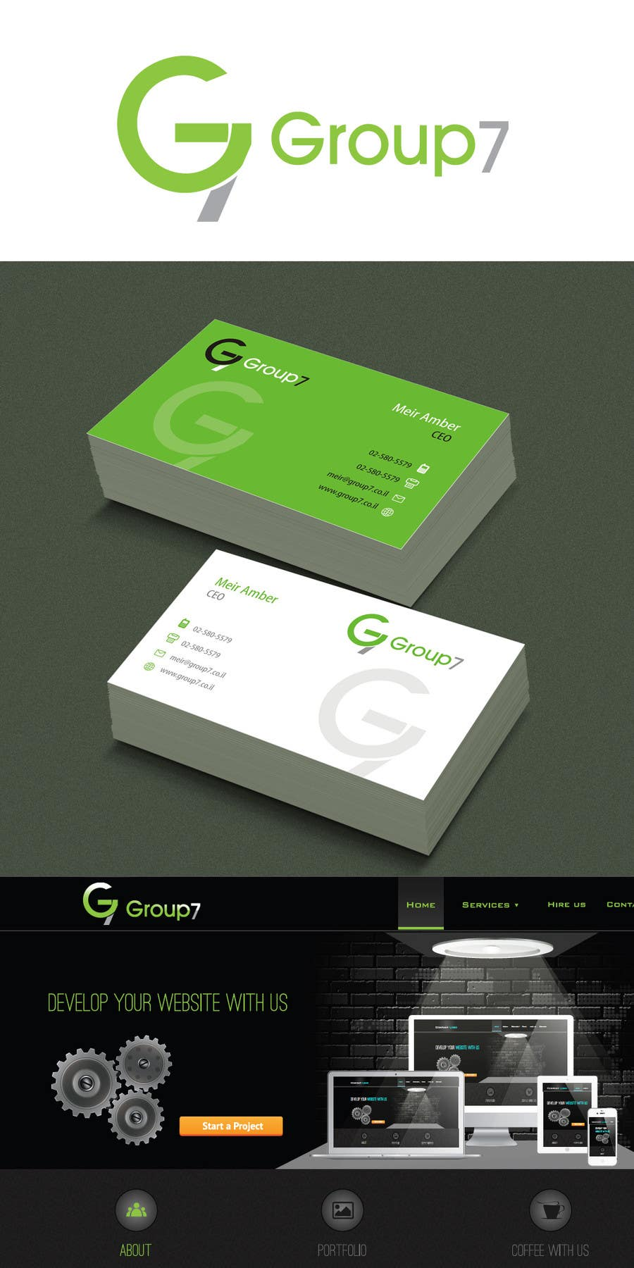 #3 for Design Logo & Business Card by suneshthakkar