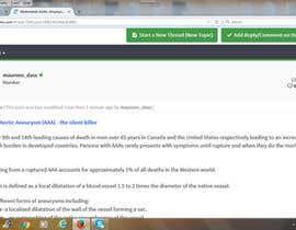 #15 for Pulse Posting on BiotechnologyForums.com | BioWRIT by maureendass