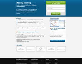 #10 para Design a home-page and sub-page for maximized conversion por tania06