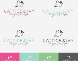 #248 untuk New Logo Design for lattice & ivy oleh winarto2012