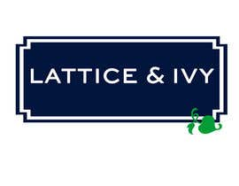 #394 untuk New Logo Design for lattice & ivy oleh webzii