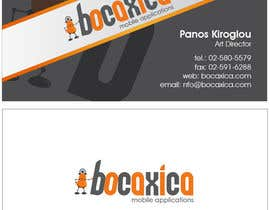 nº 265 pour Design a Corporate Identity for Bocaxica par taganherbord