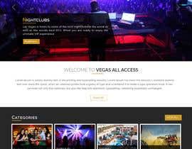 #21 untuk Design a Website Mockup (Homepage) for a Vegas Concierge Site oleh jituchoudhary