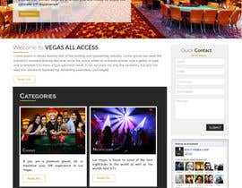 #25 untuk Design a Website Mockup (Homepage) for a Vegas Concierge Site oleh jituchoudhary
