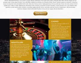 #18 untuk Design a Website Mockup (Homepage) for a Vegas Concierge Site oleh atularora