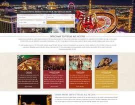 #13 untuk Design a Website Mockup (Homepage) for a Vegas Concierge Site oleh jkphugat