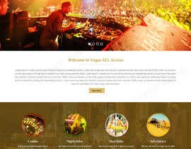 #4 untuk Design a Website Mockup (Homepage) for a Vegas Concierge Site oleh tamamanoj