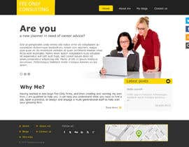 tania06 tarafından Design a Wordpress Mockup for a Certified Financial Planner Consulting Firm için no 7