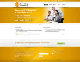 desarrollos720 tarafından Design a Wordpress Mockup for a Certified Financial Planner Consulting Firm için no 55