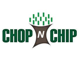 #25 untuk Logo Design for YOUR LOCAL CHOP N CHIP oleh ltorrescalderon