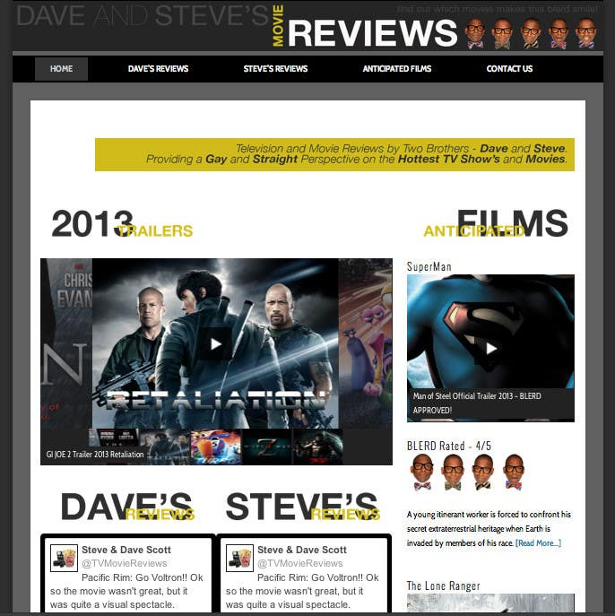 #46 for Build a Wordpress Website for Movie Reviews by echobravo
