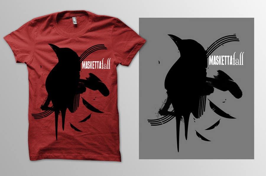 Kilpailutyö #68 kilpailussa T-shirt Design for Masketta Fall