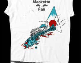 #56 для T-shirt Design for Masketta Fall от BlingDeNeige