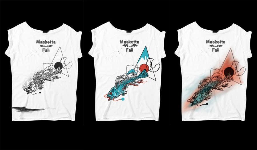 Bài tham dự cuộc thi #59 cho T-shirt Design for Masketta Fall