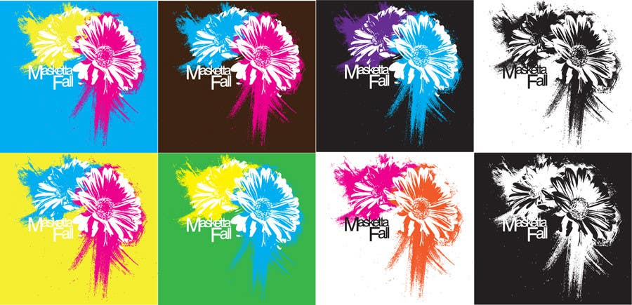 Konkurrenceindlæg #26 for T-shirt Design for Masketta Fall