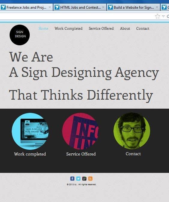 Bài tham dự cuộc thi #                                        12                                      cho                                         Build a Website for Sign Company