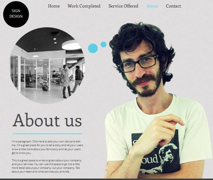Bài tham dự cuộc thi #                                        13                                      cho                                         Build a Website for Sign Company
