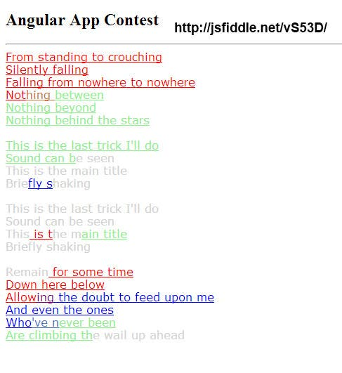 #2 for Build a single page web application using Angular JS by enterit