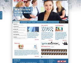 #27 for Website Design for www.skmmediagroup.com by aanuch