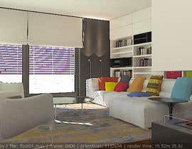 #14 untuk Interior design for living room and dining room oleh alek7000