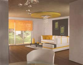 #17 untuk Interior design for living room and dining room oleh sweetkooki77
