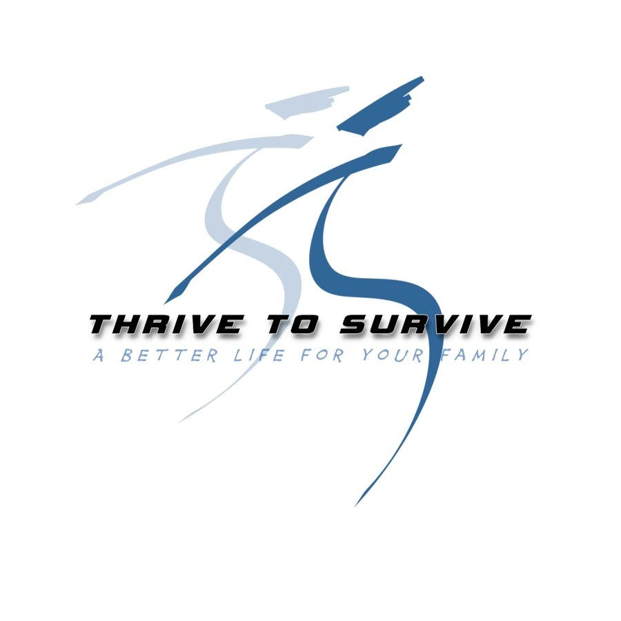 #20 for Design a Logo for Thrive to Survive by mrleefh78