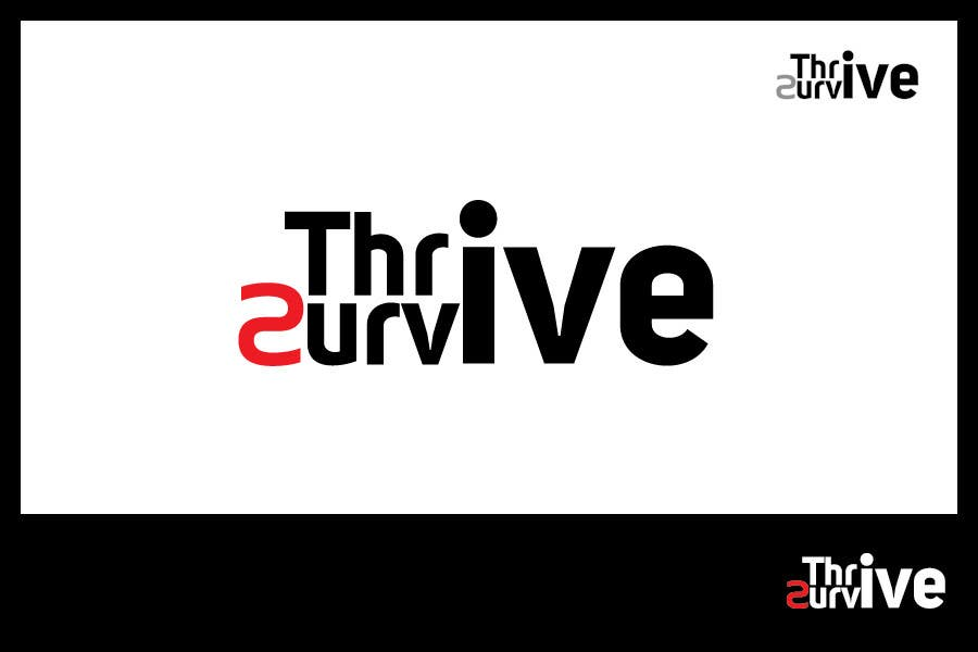 #5 for Design a Logo for Thrive to Survive by iffikhan