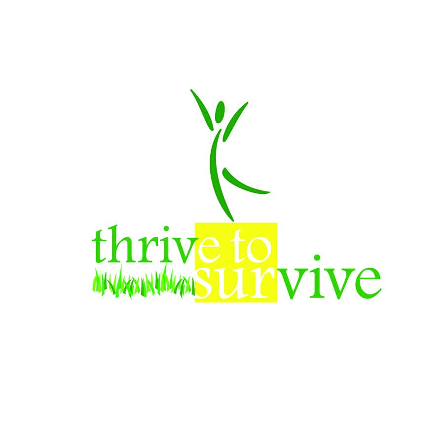 #22 for Design a Logo for Thrive to Survive by zahrazibarazzzz