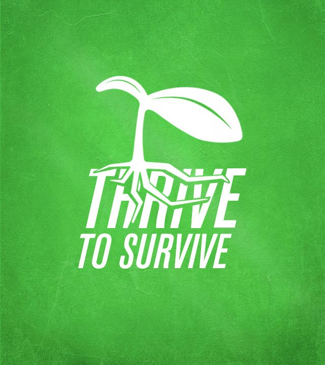 #25 for Design a Logo for Thrive to Survive by dzielnicki