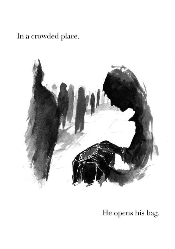 Konkurrenceindlæg #2 for Noir illustration for 2 (very) short stories