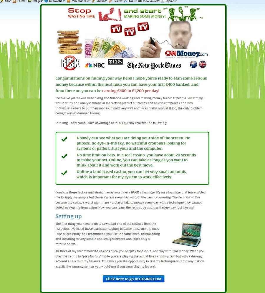 #3 for Web Designers - Make My Site Clean and Beautiful! by ajin115