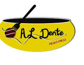 "#35 para Design a Logo for ""Al Dente"" por nrsrividhya"