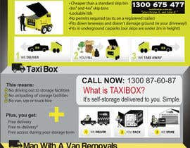 nº 4 pour Design an Advertisement for joint marketing - Mobile Skips / Man With a Van / Taxi Box par GreenworksInc