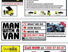 nº 6 pour Design an Advertisement for joint marketing - Mobile Skips / Man With a Van / Taxi Box par rahadyanpradipta
