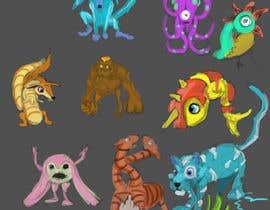 #9 untuk pokemon / digimon character style oleh eduardobravo