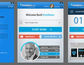 nº 86 pour New Design for the Freelancer.com TimeTracker App par gaf001