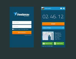 #88 para New Design for the Freelancer.com TimeTracker App por chithrarahul