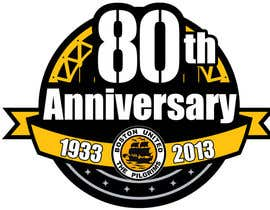 #21 para Design a Logo for Boston United Football Club's 80th Anniversary por jhoannemvillabla
