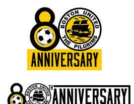 nº 53 pour Design a Logo for Boston United Football Club's 80th Anniversary par esekeloide