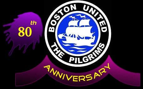 Bài tham dự cuộc thi #                                        8                                      cho                                         Design a Logo for Boston United Football Club's 80th Anniversary