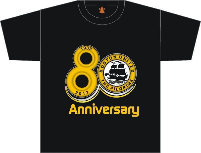 Bài tham dự cuộc thi #                                        39                                      cho                                         Design a Logo for Boston United Football Club's 80th Anniversary