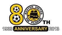 Bài tham dự #10 về Graphic Design cho cuộc thi Design a Logo for Boston United Football Club's 80th Anniversary