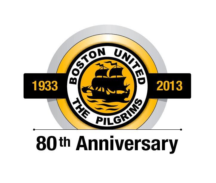 Bài tham dự cuộc thi #                                        40                                      cho                                         Design a Logo for Boston United Football Club's 80th Anniversary