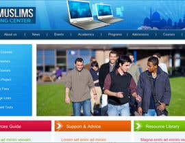 #64 for Header design for our new eLearning site by RockPumpkin